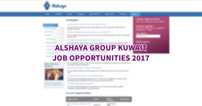 Individuals with ability, application and an energy for execution have the opportunity to thrive at Alshaya – we need representatives to develop with us and advantage from their experience. There are continually energizing parts on offer at Alshaya for individuals on each progression of the vocation step.