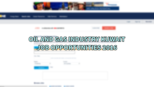 kuwait oil and gas industry q2 Baytcom offers the latest oil and gas jobs available in kuwait view the jobs below to apply.