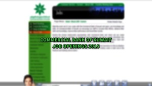 commercial bank of kuwait jobs