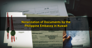 notarization phil embassy kuwait