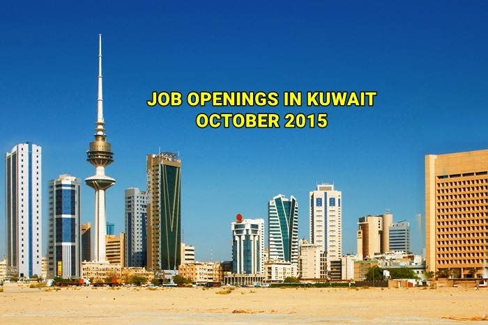kuwait jobs october 2015