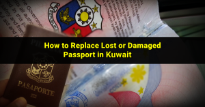 damaged-philippine-passport-kuwait
