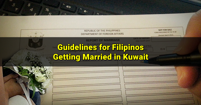 report of marriage kuwait