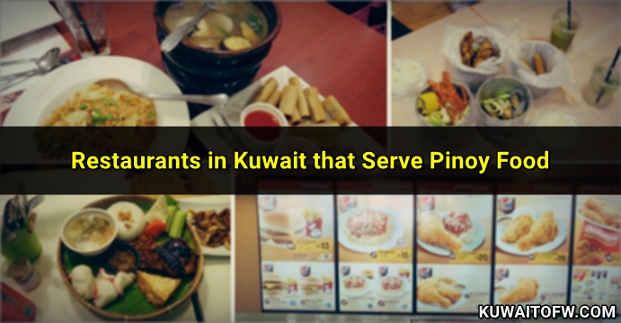 kuwait filipino restaurants