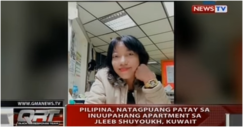 [VIDEO] Filipina Found Dead and Naked Inside Apartment in Kuwait