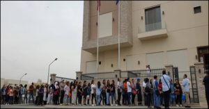 PH Embassy in Kuwait Welcomes Hundreds of Voters on First Day of Overseas Voting