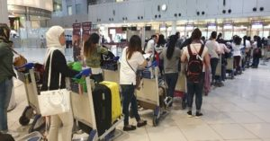 Philippine Embassy Sends Home 45 Distressed OFWs from Kuwait