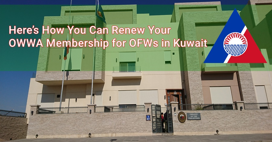 Here's How You Can Renew Your OWWA Membership for OFWs in Kuwait